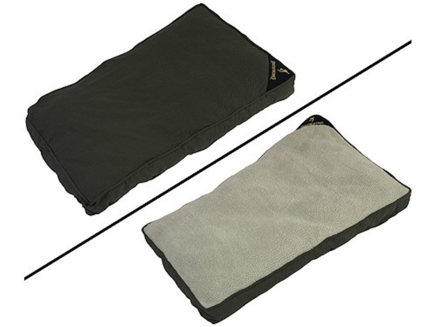 """Browning Pet Bed 45"""" x 28"""" Cotton Duck Loden"""