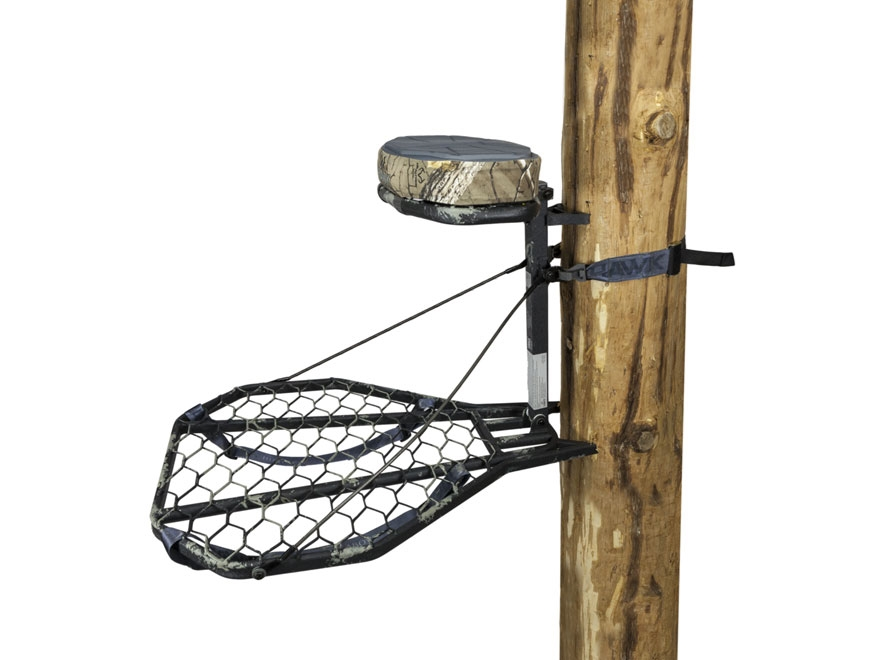 Hawk Mega Combat Hang On Treestand Steel Mud Finish Camo