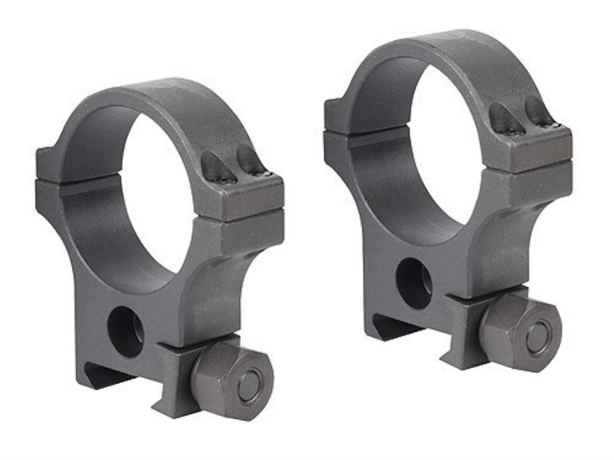 PRI Picatinny-Style 34mm Rings Matte Medium-High Steel Matte