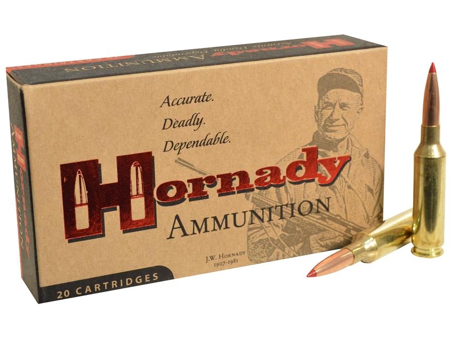 Hornady Match Ammunition 6mm Creedmoor 108 Grain ELD Match Box of 20