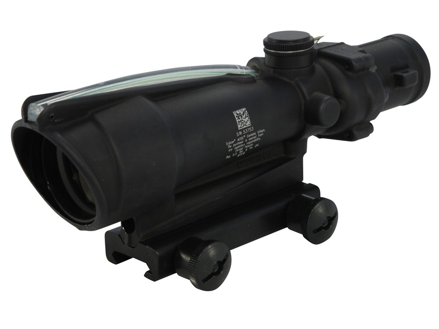 Trijicon ACOG TA11 BAC Rifle Scope 3.5x 35mm Dual-Illuminated Chevron 308 Winchester Re...