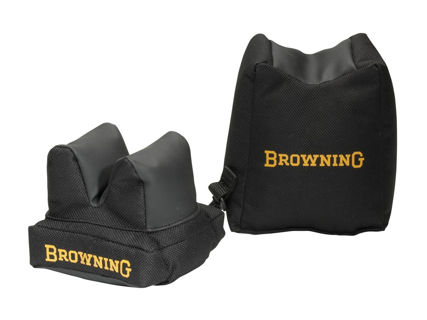 Browning MOA Front and Rear Shooting Rest Bag Set Nylon Black