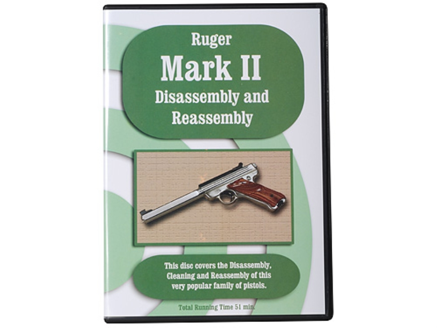 """Ruger Mark II Disassembly & Reassembly"" DVD"