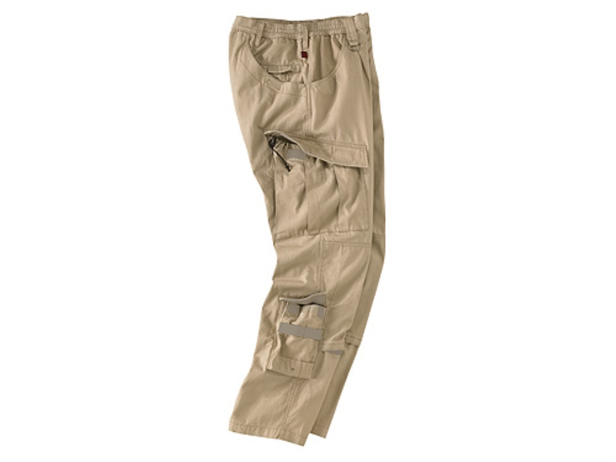 "Woolrich Elite Lightweight Operator Pants Cotton Ripstop 34"" Waist 32"" Inseam Khaki"