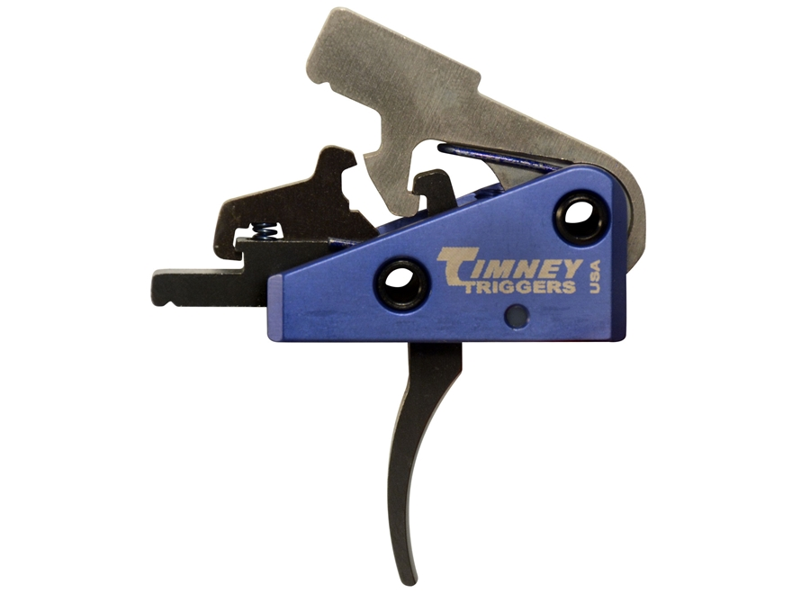 "Timney Targa Trigger Group AR-15 Small Pin .154"" Long Two Stage Solid"