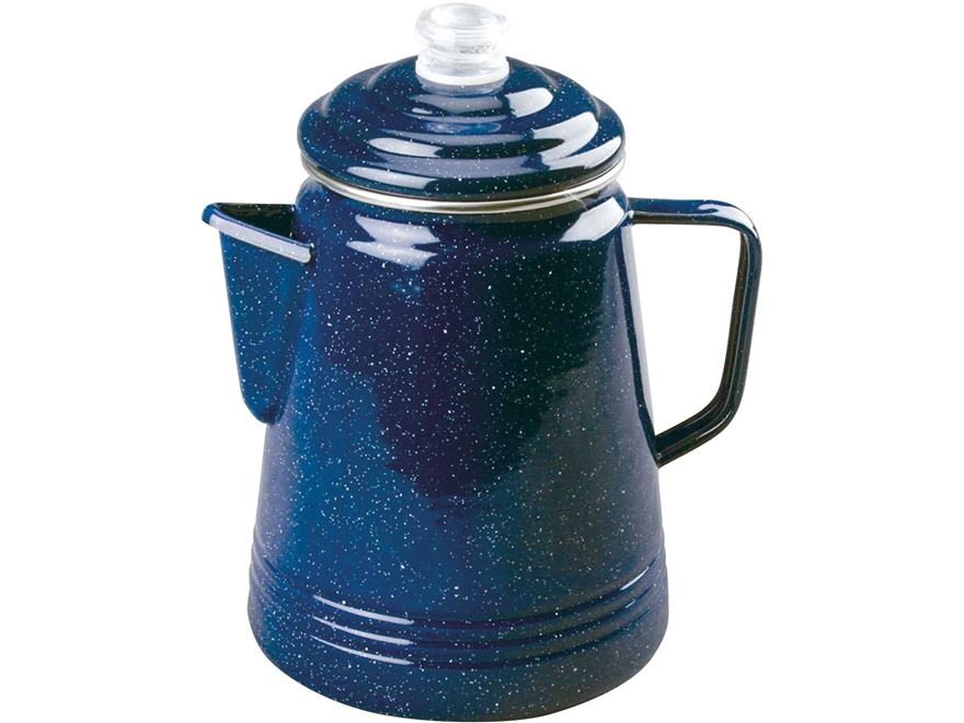 Coleman 14-Cup Double Coated Enamelware Coffee Percolator