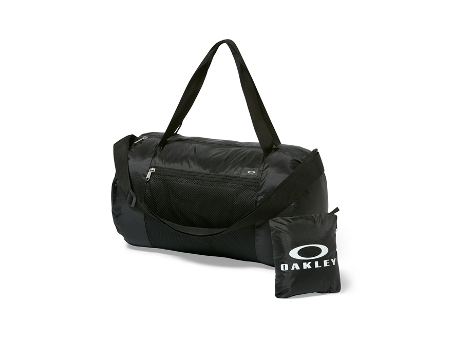 Oakley Packable Duffel Bag Polyester Blackout