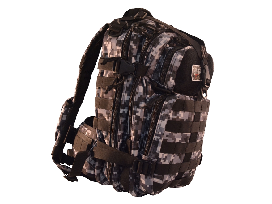 G.P.S. Tactical Bugout Backpack Loaded Nylon