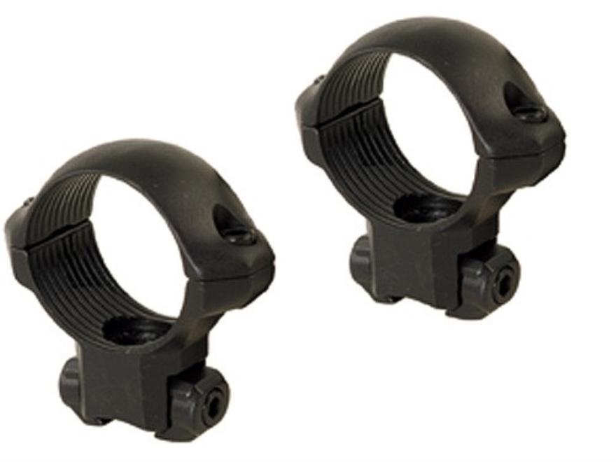 """Millett 1"""" Angle-Loc Windage Adjustable Rings 3/8"""" Grooved Receiver Matte Medium"""