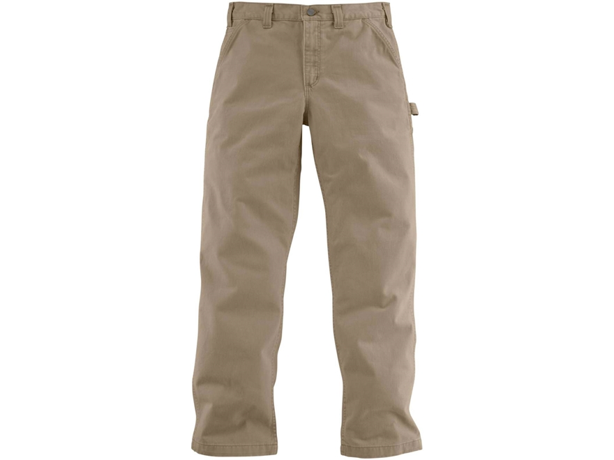 Carhartt Men's Washed Twill Dungaree Pants Cotton
