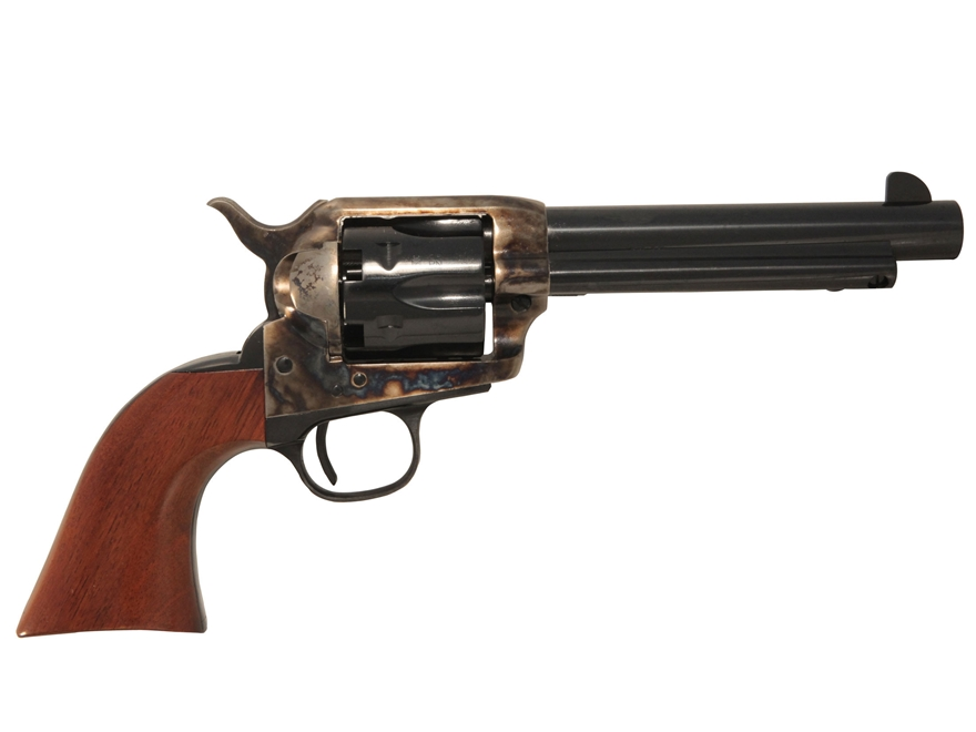 "Uberti 1873 Cattleman Black Powder Revolver 44 Caliber 5.5"" Barrel Steel Frame Blue"
