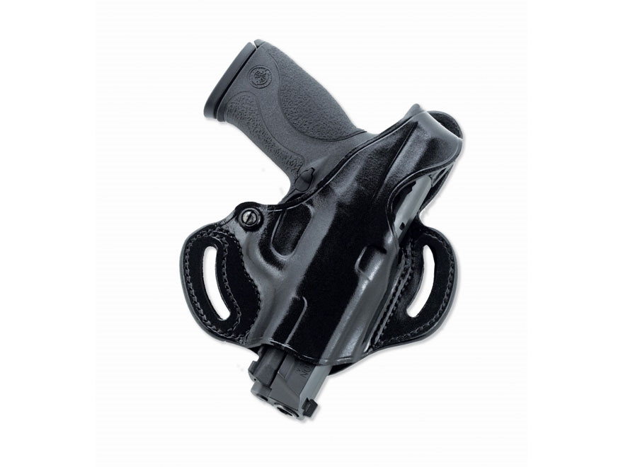 Galco COP Slide Holster Right Hand S&W M&P 9mm, 40 S&W Leather Black
