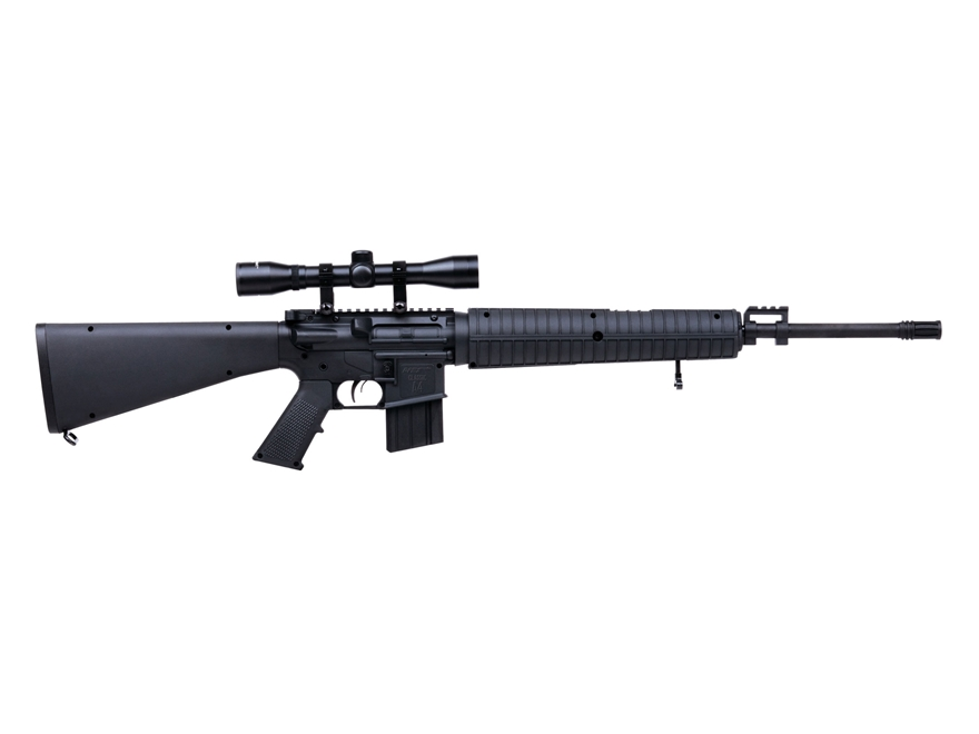 DPMS Classic A4 Nitro Piston Break Barrel Air Rifle 177 Caliber Pellet Black Synthetic ...