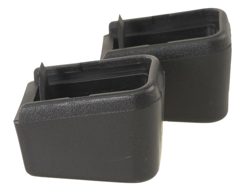 ProMag Magazine Base Pad +2 Glock 17, 19, 22, 23, 26, 27, 31, 32, 33, 34, 35 Polymer Bl...
