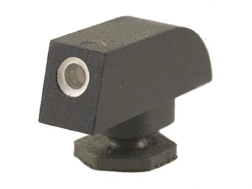 "Novak Front Sight Glock .158"" Height .134"" Width Steel Blue Tritium"