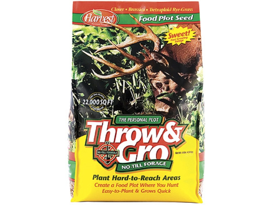 Evolved Habitats Throw & Gro Annual Food Plot Seed