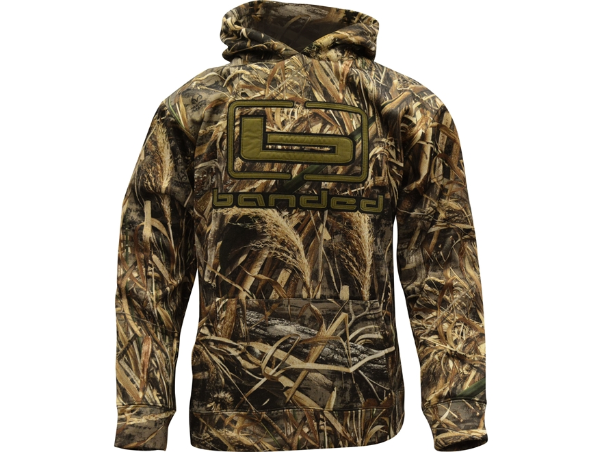 Banded Logo Hoodie Polyester