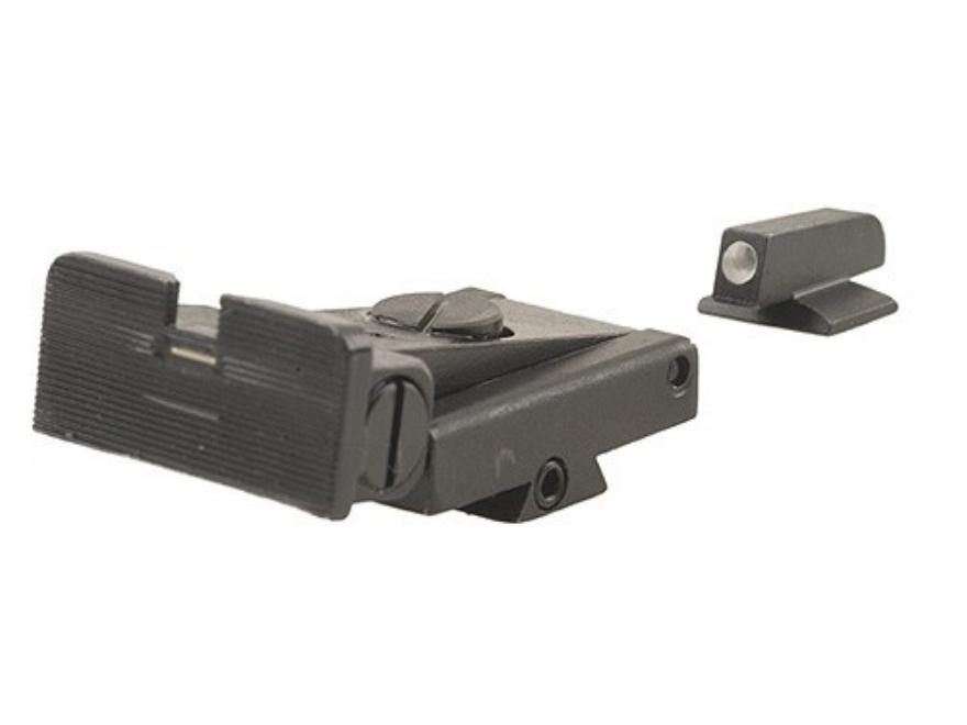 Meprolight Tru-Dot Adjustable Sight Set 1911 Kimber Adjustable Sight Models Steel Blue ...