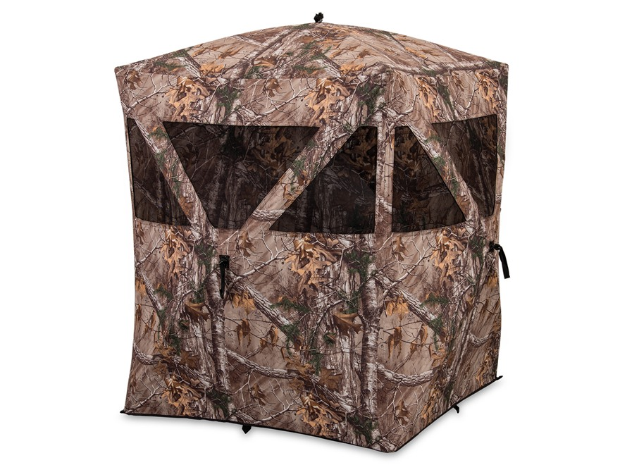 "Ameristep Backstrap Ground Blind 63"" x 63"" x 65"" Polyester Realtree Xtra Camo"