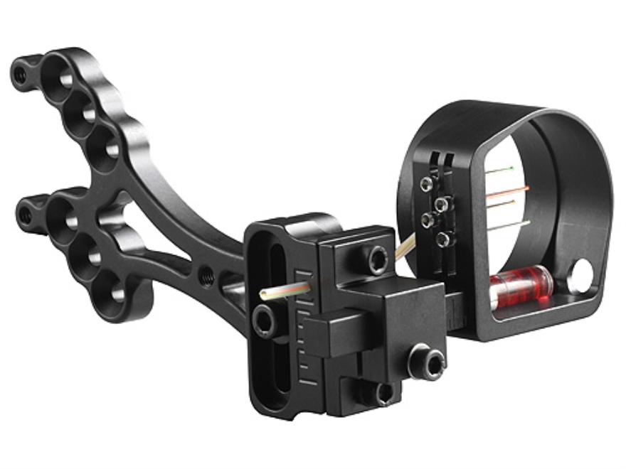 "Custom Bow Equipment Sniper Hunting Sight 4-Pin Bow Sight .019"" Pin Diameter Right Hand..."