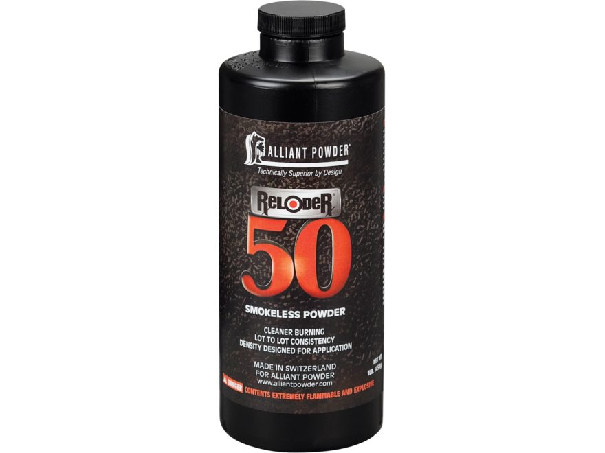 Alliant Reloder 50 Smokeless Powder