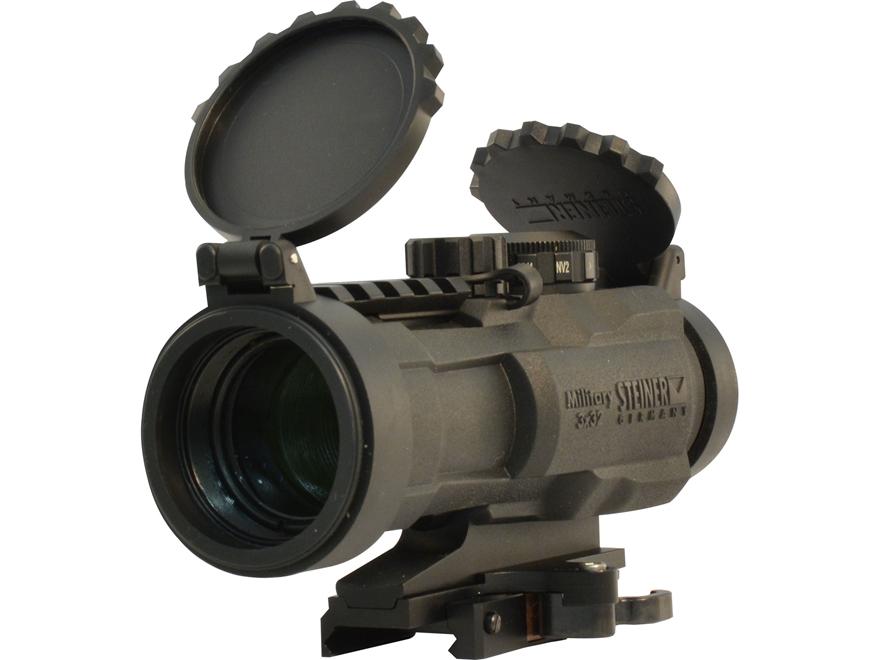 Steiner M-332 Battle Prism Sight 3x 32mm with Quick Detach Mount Matte