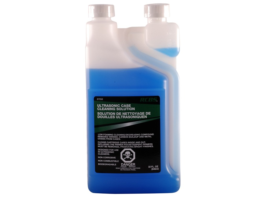 RCBS Ultrasonic Case Cleaning Solution 32 oz Liquid