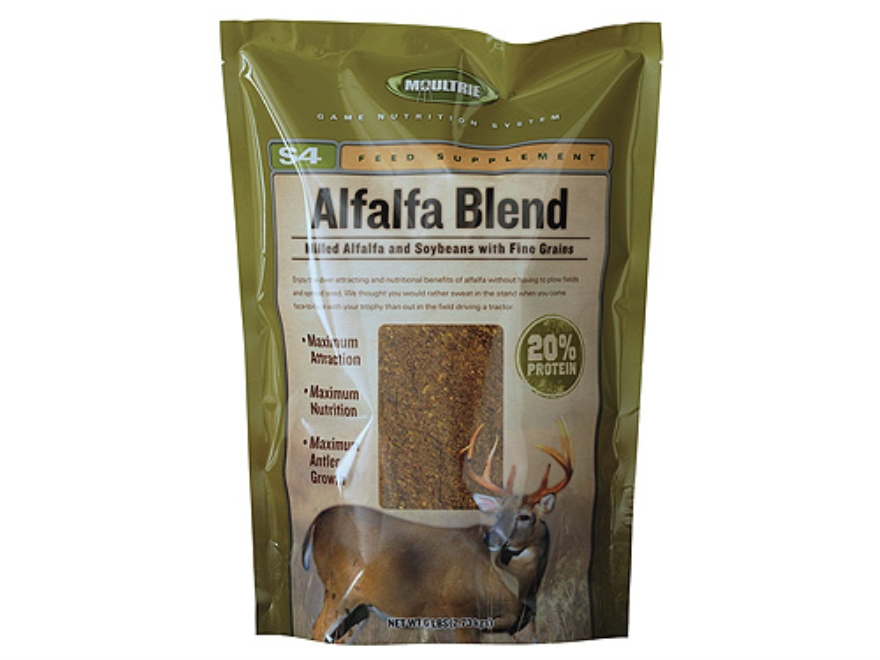 Moultrie Rack Magnet Alfalfa Deer Supplement Bag 6 lb