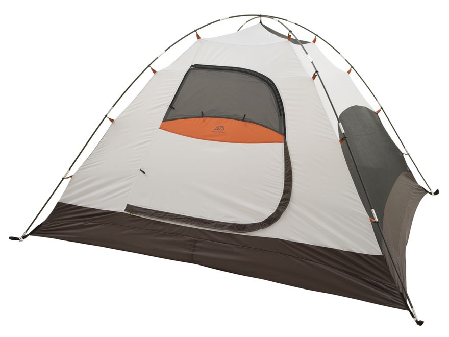 "ALPS Mountaineering Meramac 2 Dome Tent 5' x 7'6"" x 4' Polyester Green, White and Orange"