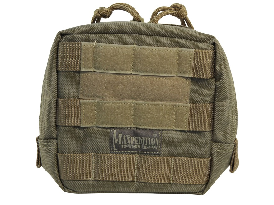 "Maxpedition Padded Pouch 6"" x 6"" Nylon Khaki"