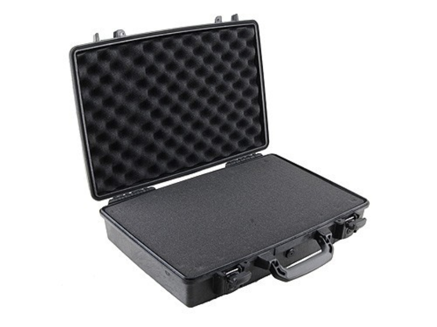 Pelican 1490 Attache Pistol Case with Pre-Scored Foam Insert Polymer