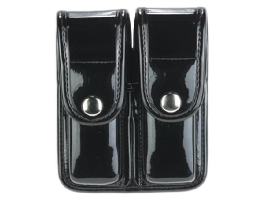 Bianchi 7902 AccuMold Elite Double Magazine Pouch Double Stack 45 ACP Chrome Snap Trila...