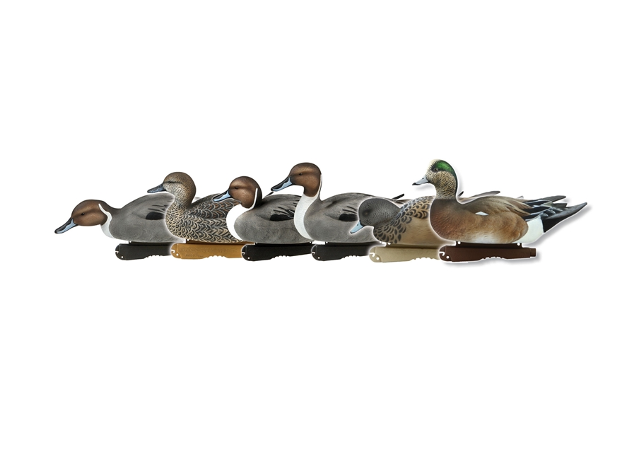 GHG Pro-Grade Marsh Pack Duck Decoy Pack of 6