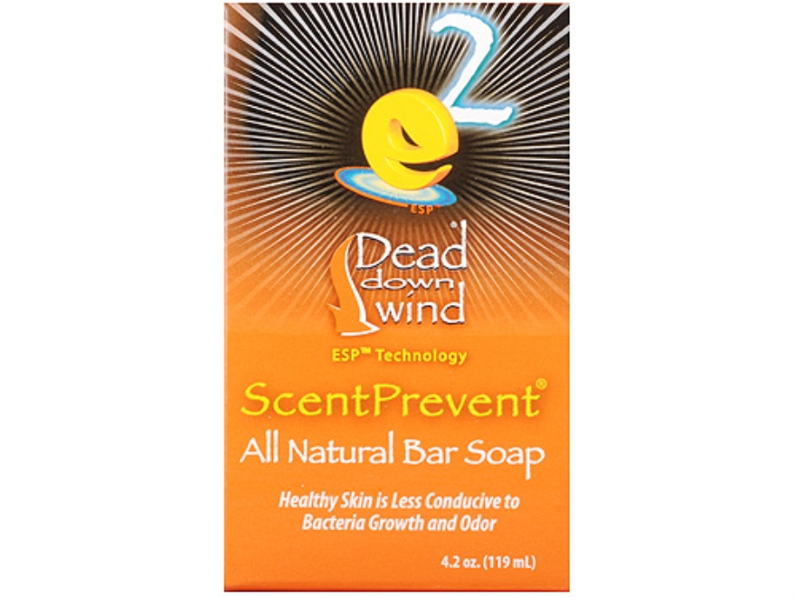 Dead Down Wind e2 ScentPrevent Scent Elimination Bar Soap 4.2 oz