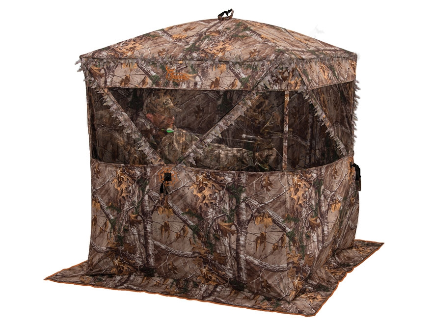 "Ameristep Buck Commander Deerstroyer Ground Blind 75"" x 75"" x 67"" Polyester Realtree Xt..."