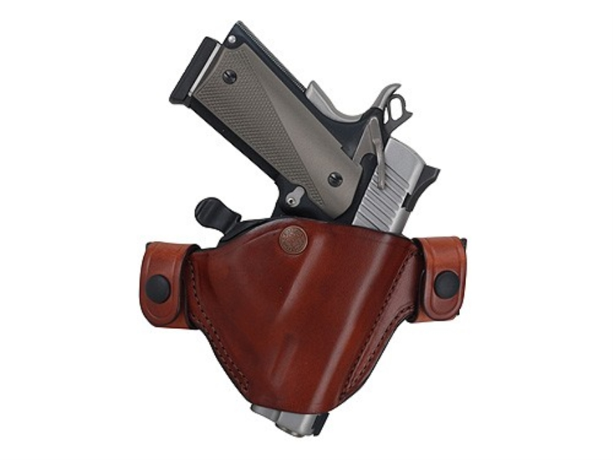 Bianchi 84 Snaplok Holster Right Hand Beretta 92, 96 Leather Tan