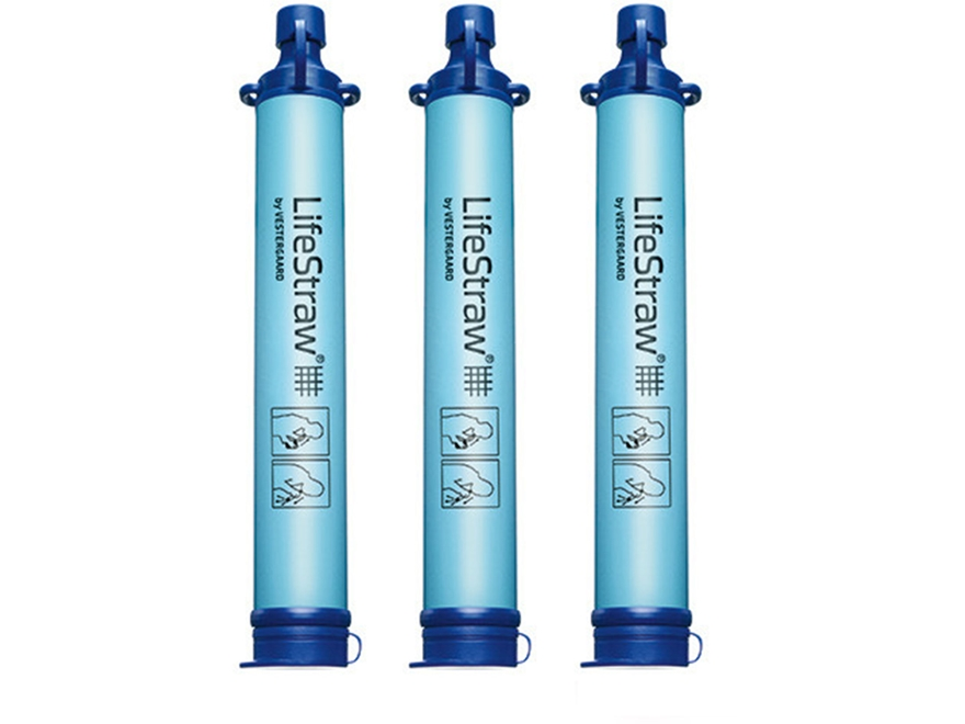 LifeStraw Personal Water Filtration System Pack of 3