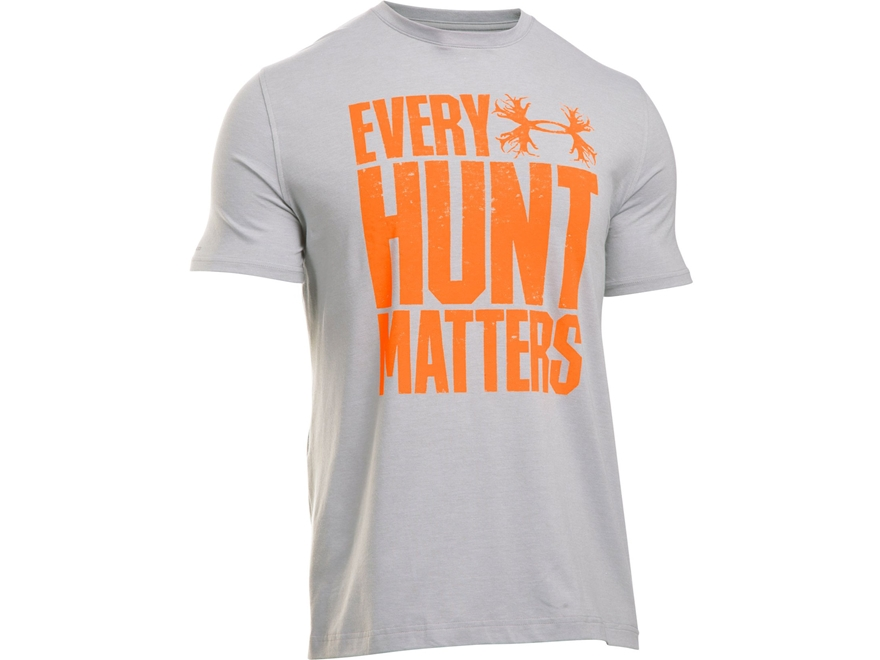 Under Armour Men's UA Every Hunt Matters T-Shirt Short Sleeve Poly/Cotton Blend