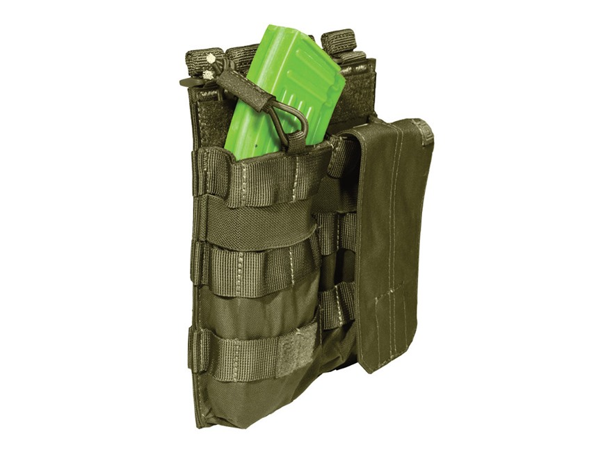 5.11 Double AK-47 Magazine Pouch with Bungee Cover Nylon