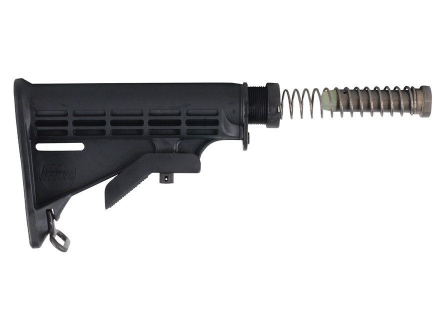 DSA Buttstock Assembly 6-Position Mil-Spec Diameter Collapsible AR-15 Carbine Synthetic...