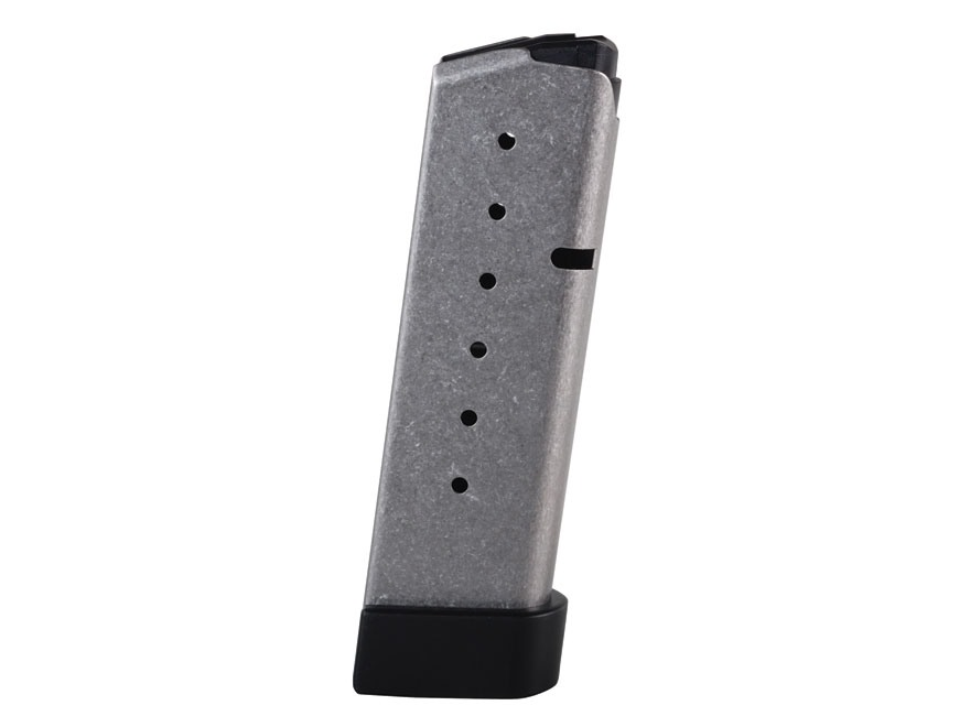 Kahr Magazine Kahr CW45, P45 45 ACP 7-Round Stainless Steel with Grip Extension