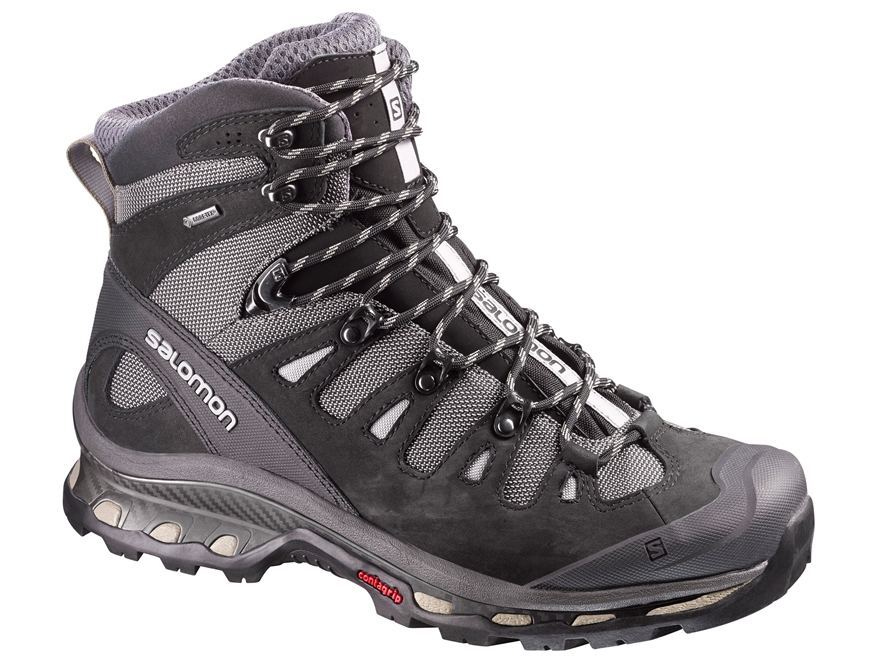 "Salomon Quest 4D 2 GTX 6"" Hiking Boots Synthetic and Leather Men's"