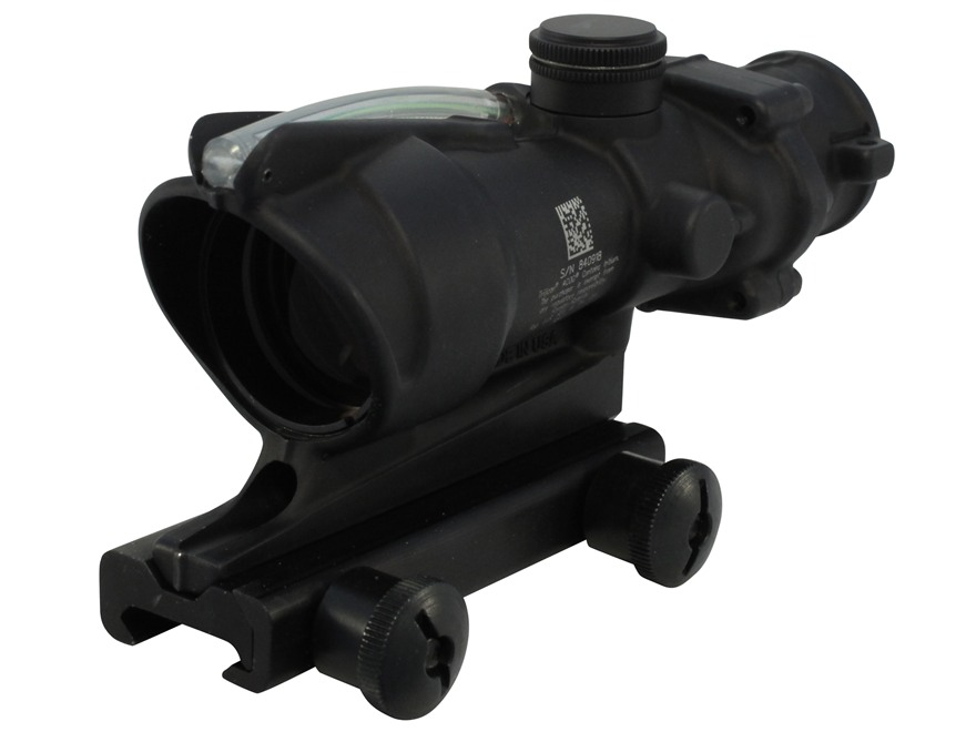 Trijicon ACOG TA31 BAC Rifle Scope 4x 32mm Dual-Illuminated Chevron 223 Remington Retic...