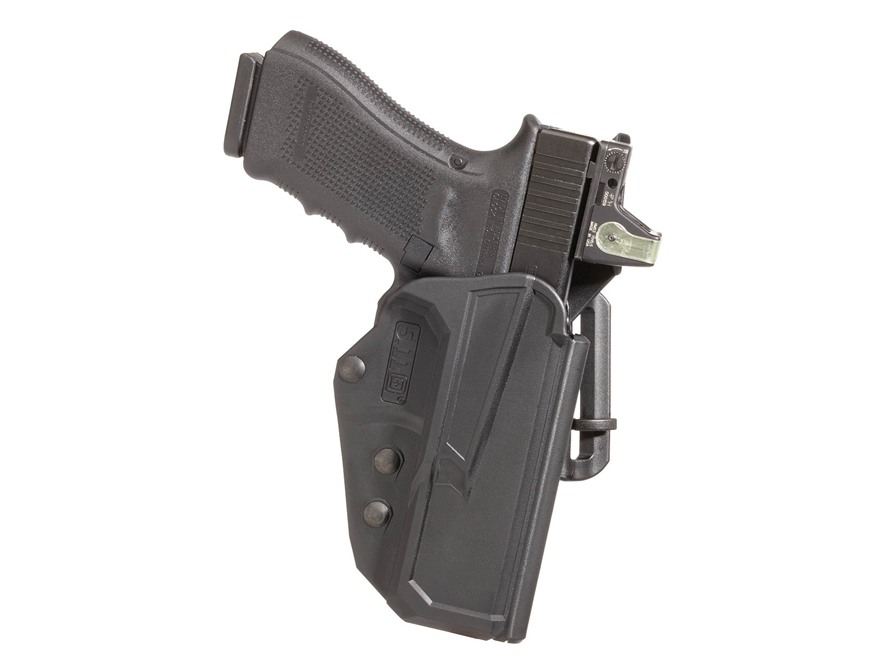 "5.11 ThumbDrive Outside the Waistband Holster Right Hand M&P Compact 4"" 45 ACP Kydex Black"