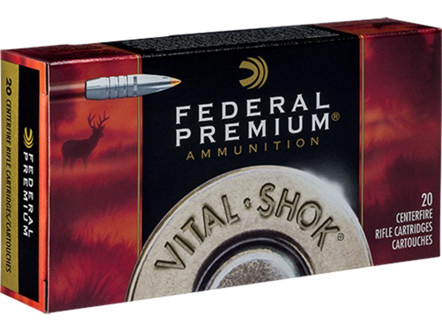 Federal Premium Vital-Shok Ammunition 300 Winchester Magnum 180 Grain Trophy Bonded Tip