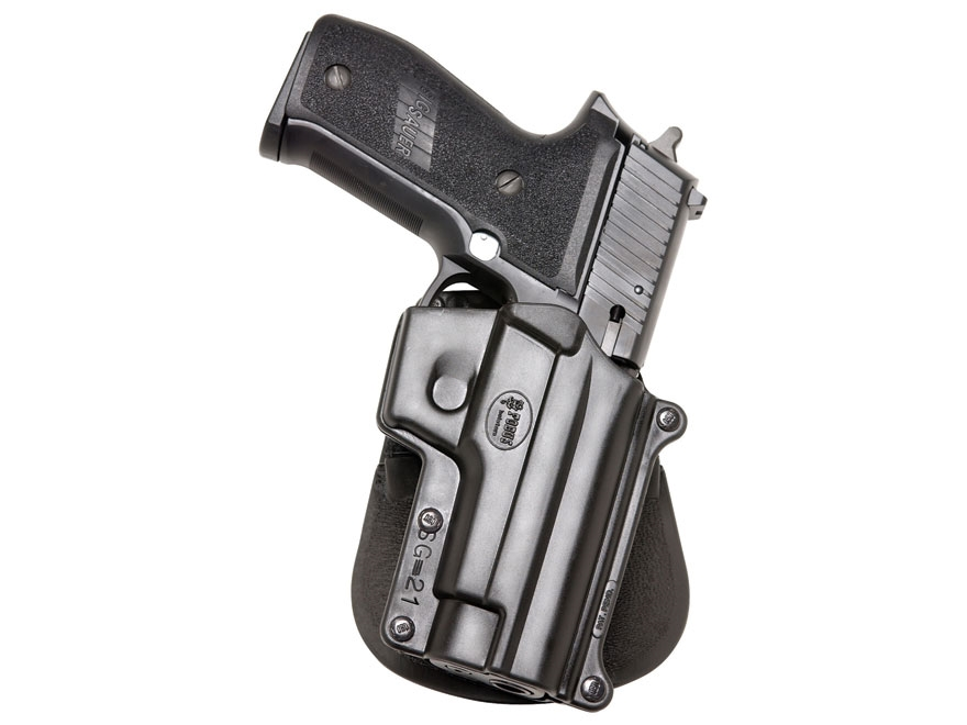 Fobus Paddle Holster Right Hand Sig Sauer P220, P225, P226, P228, P245 (Including Rail ...