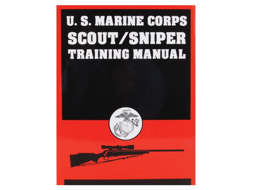 US Marine Corps ScoutSniper Training Manual Book  Mpn MarScout