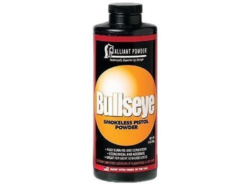 Alliant Bullseye Smokeless Powder