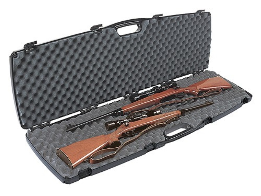 "Plano Gun Guard SE Double Scoped Rifle Case 51-3/4"" Polymer Black"