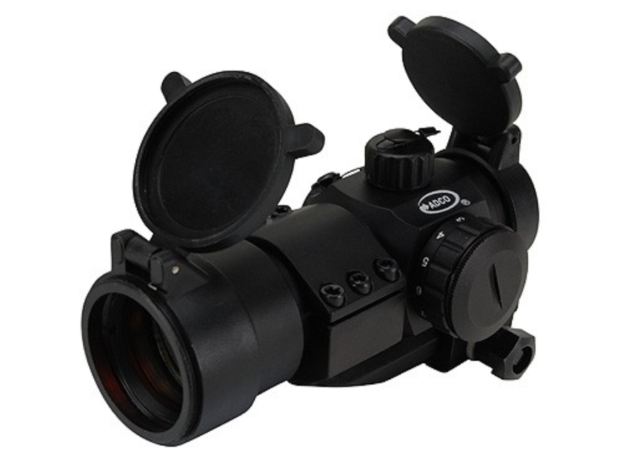 ADCO Mirage Tactical Red Dot Sight 30mm Tube 1x 3 MOA Dot with Cantilever 1-Piece Picat...